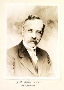 A. J. Bertonneau, Pasadena
